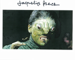 Jacqueline Pearce The Reptire Hammer Horror 10 X 8 genuine signed autograph 10415